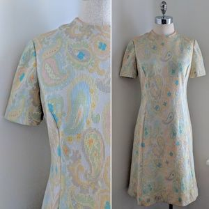 COMING SOON 60's paisley shift dress